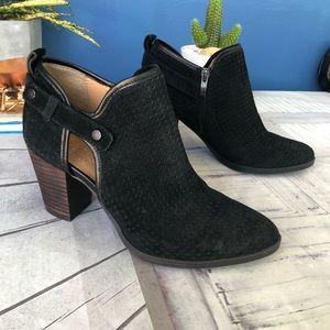 Franco Sarto Black Uncle Boots